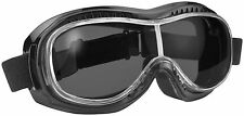 Pacific Coast Sunglasses 9311 Motorcycle Airfoil Day2Nite Fitover Goggles Black