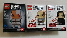 Lego Brick Headz 'STAR WARS'  3-pack - NIB - 41601 / 41602 / 41603 - Free Ship