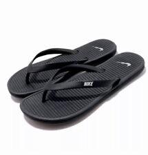 Women's Size 8 Nike SOLARSOFT THONG 2 Flip Flops Sandals  Black