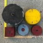 5 Antique Vintage Industrial Factory Foundry Mold Wooden Forms Steampunk  Lot A