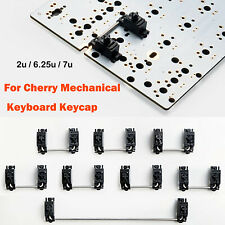Plate-Mounted Stabilizers Clear Satellite Axis 7u 6.25u 2u For Cherry Keyboard