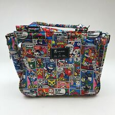 TOKIDOKI X JUJUBE BE CLASSY 'SUPER TOKI' DIAPER BAG 15FB01AT WOMEN'S NEW