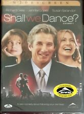 Shall We Dance  (DVD, 2004, R1)  Jennifer Lopez  BRAND NEW & SEALED