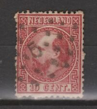 NVPH Netherlands Nederland 8 TOP CANCEL AMSTERDAM 5 Willem III 1867 3e emissie