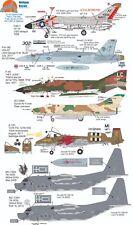 Wolfpak Decals 72-112 Douglas Boeing Phantom Thunderbolt Talon Sukiho Decals