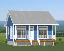 26x26 House -- 1 Bedroom 1 Bath -- 676 sq ft -- PDF Floor Plan 2