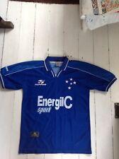 More details for vintage 1999 cruzeiro football shirt | mens l | blue