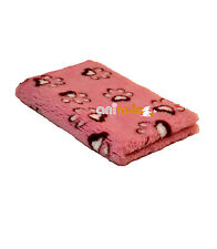 Tapis Confortbed Vetbed Dry Extra  motif Modern pattes 26 mm rose 50x75 cm