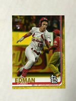 TOMMY EDMAN 2019 Topps Update YELLOW EXCLUSIVE SP RC #US84! CARDINALS! INVEST!