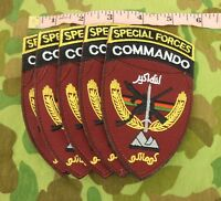 5 PCS AFGHANISTAN US ARMY SPECIAL FORCES COMMANDO PATCH US MARSOC-0423