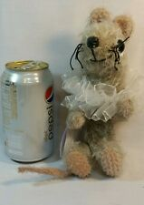"9"" Rat HOOHIGE Rat 100% hand stitched by Bowley Bears"