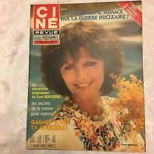Ciné Revue N°20 du 1 mai 1981 / Claudia Cardinale - Jean Paul Belmondo