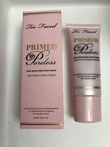 Too Faced Primed PORELESS Skin Smoothing Face Primer (1 oz./Full Size)