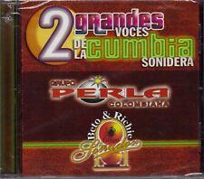 Grupo Perla Colombiana y Grupo Sonador 2 Grandes Voces de la Cumbia Sonidera CD