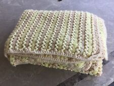 Handmade Large Crochet Throw Couch Blanket 91� (7'7�) L x 53� (4'5�) W Afghan