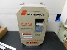 SAFTRONICS G3 3 Phase Variable Frequency AC Drive - CIMR-G3U45P5 - 13.5A 7.5HP