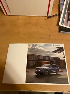 2020 Lincoln Aviator brochure
