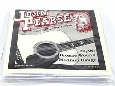 John Pearse Guitar Strings Acoustic  Medium #300M Bronze Wound