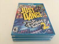 Just Dance: Disney Party 2 (Nintendo Wii U, 2015) NEW