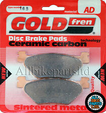 YAMAHA FJR1300 (2001-2013) ' SINTERED GOLD-FREN REAR BRAKE PADS 'AD165 FA319/2HH