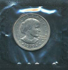 1979-S SUSAN B. ANTHONY $1 GREASE FILLED DIE ERROR In A 3-Coin Souvenir Set