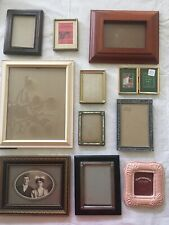 Lot of 30+ Frames - Wood, Metal, Terra Cotta and Mosaic In Good Condition