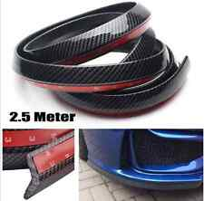 1PC Universal Carbon Fiber Front Bumper Lip Splitter Chin Spoiler Body Kit Trim