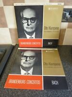OTTO KLEMPERER PHILHARMONIA ORCHESTRA RECORDS 1&2 STEREO BACH-BRANDEN VG+FOR AGE