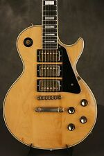 original 1976 Gibson Les Paul Custom Natural 3 PICKUPS!!!