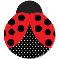 Ladybug Birthday Party Supplies Large Dinner Plates