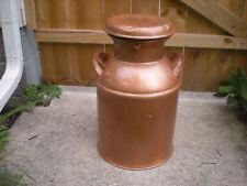 Rare- Vintage  8 Gallon Metal Milk/Creamer Can w/ Lid -Nice Decor