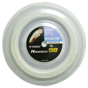 High Quality NBG98 Medium feeling 200 meters badminton string