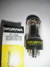 Vintage SYLVANIA 6SN7GTB NOS/NIB Tube