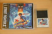 Street Fighter II dash Jeu NEC PC Engine Hucard import JAP cib