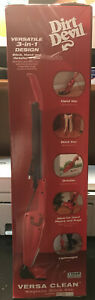 Dirt Devil Versa Clean 3-in-1 Hand and Stick Vac Bagless - NEW IN BOX