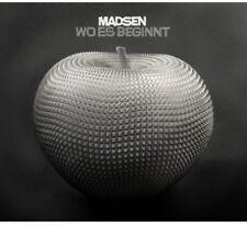 Madsen - Wo Es Beginnt [New CD] Germany - Import