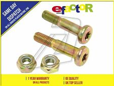 NEW FRONT LEFT AND RIGHT SUSPENSION PINCH BOLTS FOR WISHBONE PAIR 6080625
