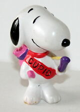 Vintage Peanuts Gang Snoopy as Cupid Figure Plastic Pvc New Nos