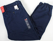 Levi's Chino Jogger Navy wool stretch Pants-38 x30-NEW-warm levis jeans-sweats