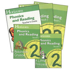 Alpha Omega Horizons 2nd Grade 2 Phonics & Reading - English Homeschool Set NEW!