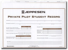 Jeppesen Private Pilot Record Folder | 10001796 | JS436501