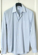 *JIL SANDER*-MENS L/S TAILOR MADE-STRIPED COTTON SHIRT- ITALY-40