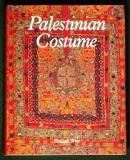 BOOK Palestinian Costume ethnic embroidered dress jewelry shawl robe headdress