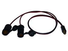 "100cm (39"") Hella Type Plug to TWIN Standard Sockets Adaptor 12v/24v"
