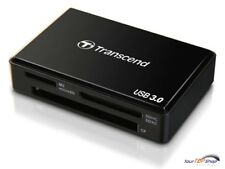 Transcend Kartenleser TS-RDF8K schwarz USB 3.0 TS-RDF8 Multi-Card Reader neu OVP
