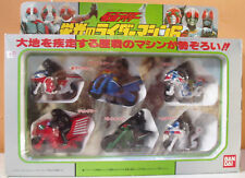 1992 KAMEN MASKED RIDER MACHINE 6 MOTORCYCLES HURRICANE AMAZON BLACK ZX V 3