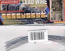 Plus Model 0,6mm Kabel Leitung Anschlusskabel für Modell-Bausatz 1:32/48/72/87