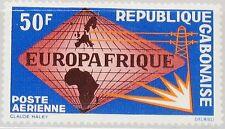 GABON GABUN 1965 227 C36 EUROPAFRIQUE Maps Karten Globe Cooperation MNH