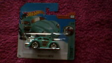 Hot Wheels - UK Card - #74 Custom Volkswagen Beetle - Turquoise