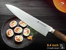 Classic Japanese Vg10 Steel Chef's knife 9.4 inch Gyuto Slicer Flatware Cutlery